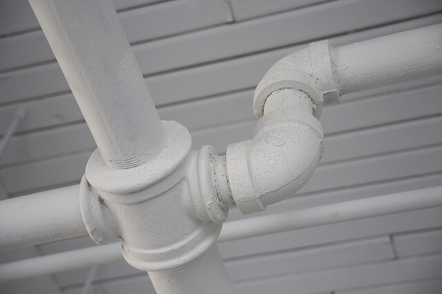 Unblocked Drain pipe