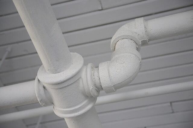 Unblocked Drain pipe